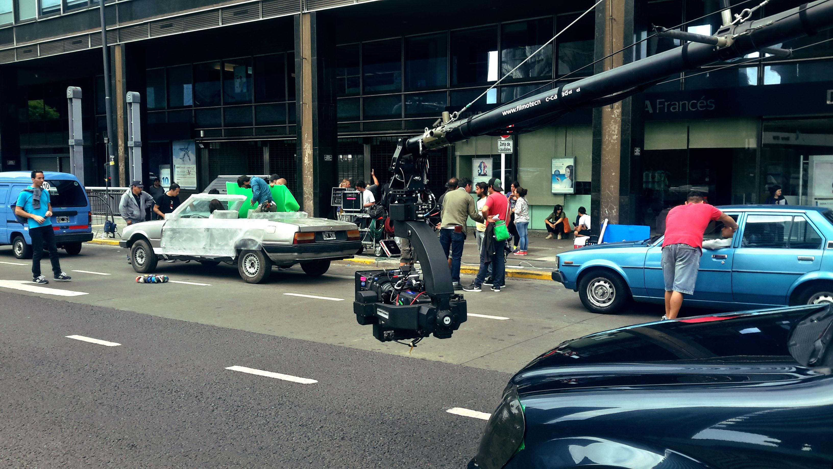 on set VFX supervisor